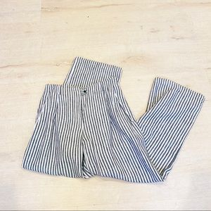 Reformation striped wide leg pant ethically made